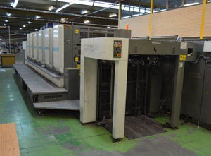 KOMORI Lithrone LS 640 Offset six colours