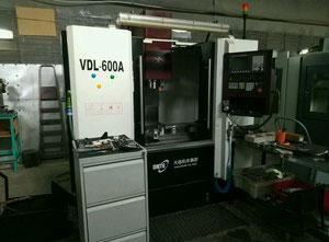 Fresadora cnc vertical DMTG VDL - 600A