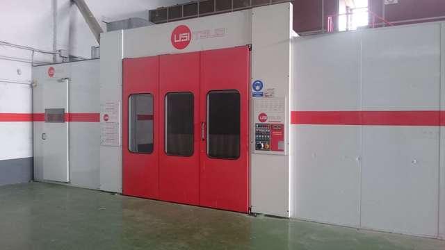 Cabina de pintura usi it multiespeed maquinas de segunda mano exapro - Cabina pintura ocasion ...