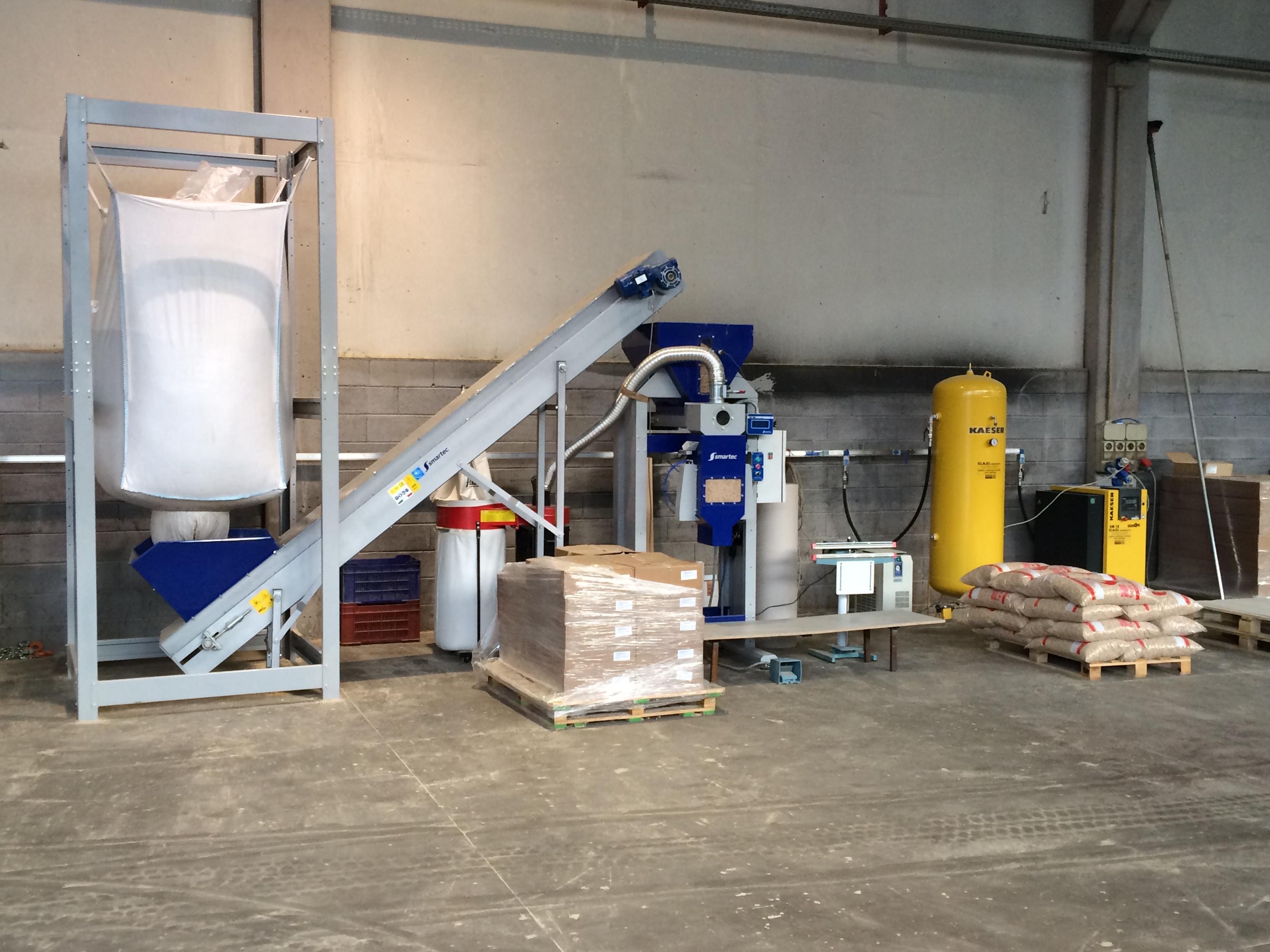 Smartec srl plt1000 machines d 39 occasion exapro for Impianto pellet usato