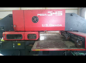 Amada Pega 345 Высечной станок с ЧПУ