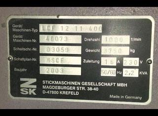 ZSK LCF 12 11 400 P70706117