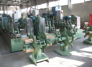 Woo-Sung - Cho-Myung Used Tig welded tube mill for producing round and square tubes