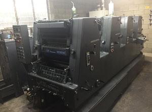 Heidelberg GTO 52 VP 4 Farben Offsetdruckmaschine