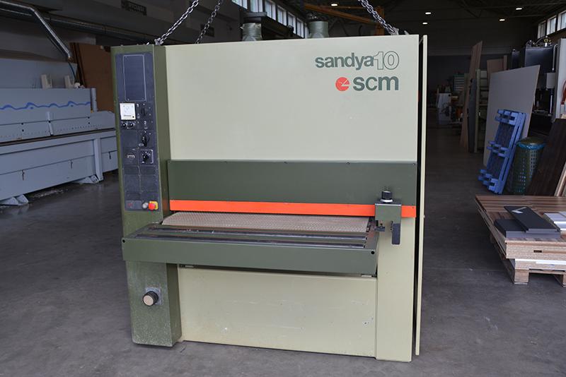 scm sandya 10 wide belt sander exapro