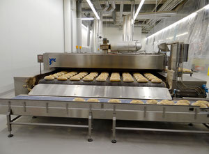 Used Benier, Daub, Kaak, San Cassiano  Complete bread production line