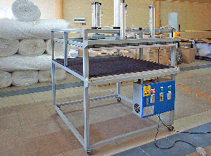 Machine For Vacuum Packing Of Pillows, Quilts, And Other Products