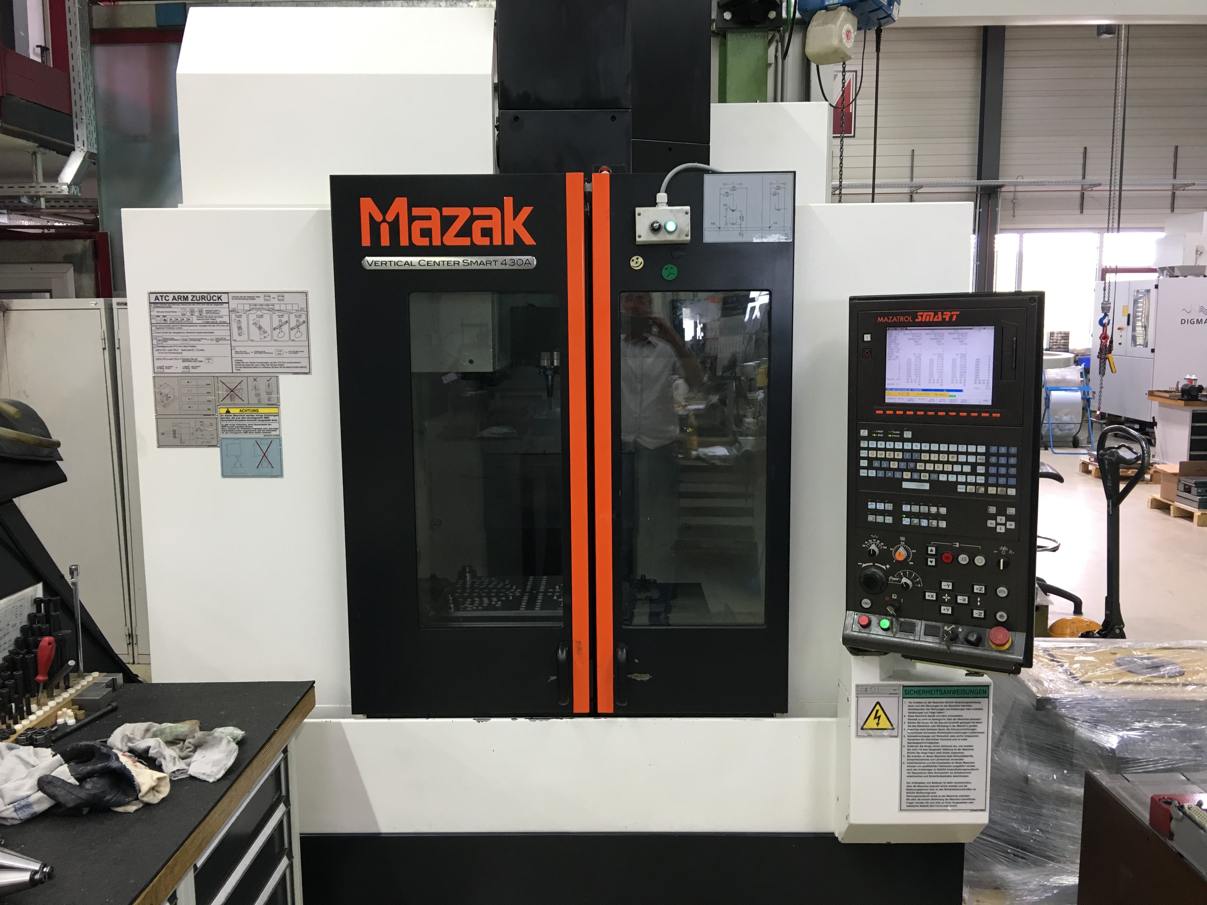 Mazak Vc Smart 430 A Machining Center Vertical Exapro