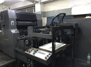Heidelberg MOZ-S Offset two colours