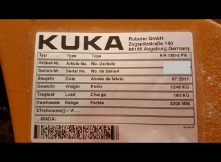 Kuka KR180-2PA P70721086