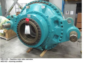 General Electric 3505 wind turbine gearbox generator
