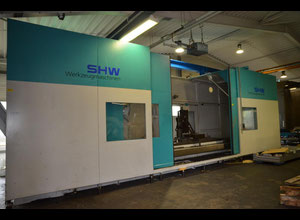 SHW UFZ 5 S cnc   Horizontal Milling Machine - bed type