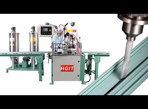 HGZJ801 Filling machine - thermal insulating polyurethane adhesive into aluminum profiles