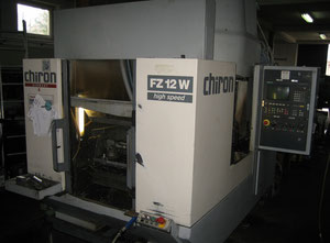 Chiron FZ12W Magnum 2x 4 axis Machining center - vertical