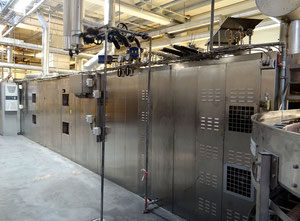 Used Miwe thermo-rollomat TR 2D Cooking tunnel
