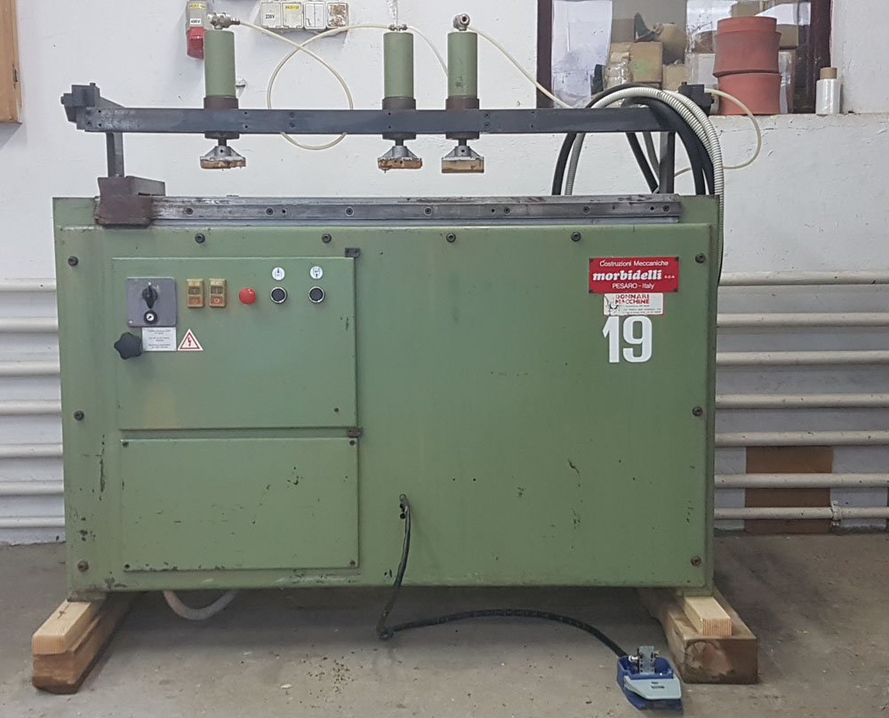 Spindle Boring Machine : Multi spindle drilling machine driller for wood morbidelli