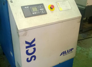 ALUP SCREW COMPRESSOR AND AIR RECIEVER