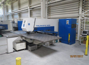 Trumpf TC 200R - 1300 Punching machine / nibbling machine with CNC