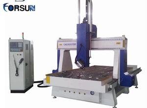Forsun CNC Router FS1325D - 4 axis Wood CNC machining centre