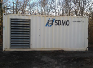 SDMO 910 Generator set