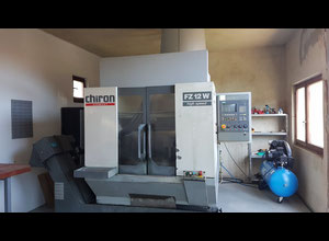 Chiron FZ12W High Speed Machining center 4 axis - vertical