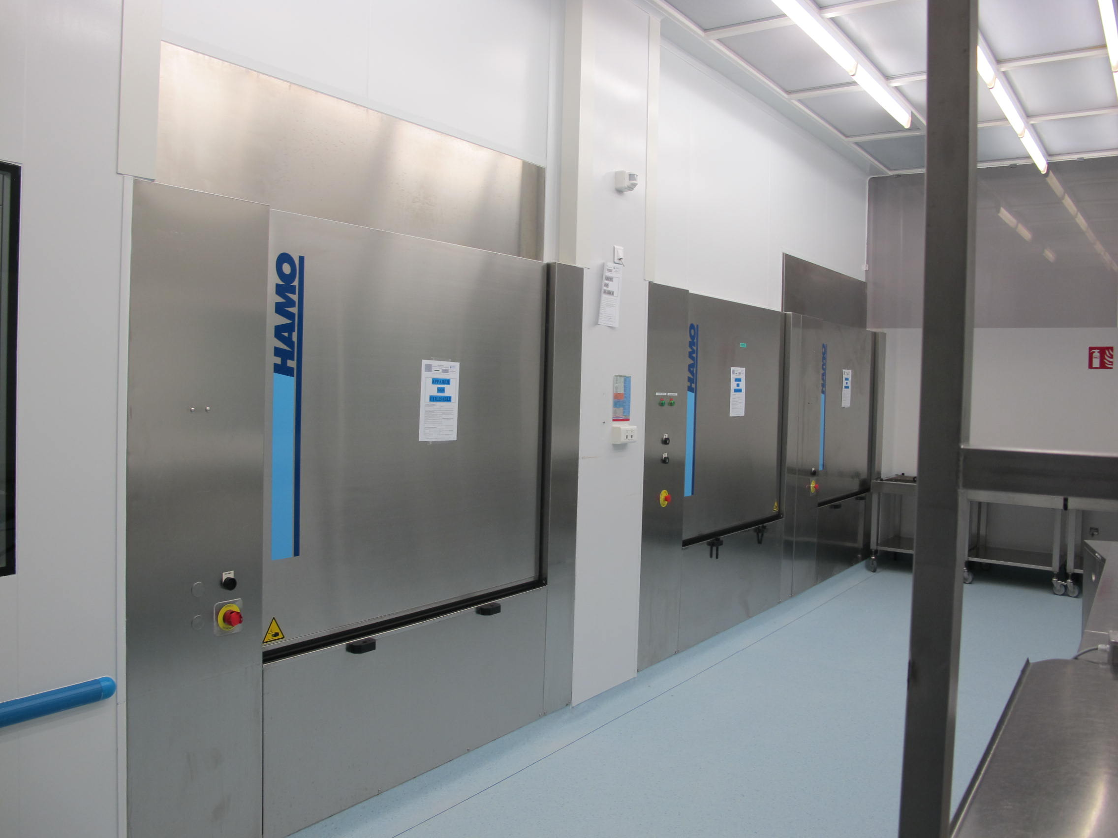 Second hand cleaning and sterilizing machines - Exapro