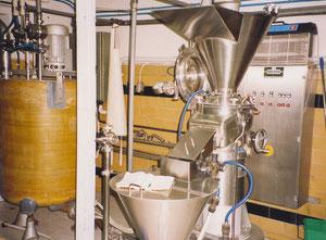 Die Linie für die Herstellung von flüssigen oder halbflüssigen Produkten Koruma