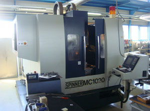 Pionowe centrum obróbcze Spinner MC-1020E