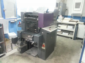 Ofsetový dvoubarevný stroj Heidelberg QM 46 2