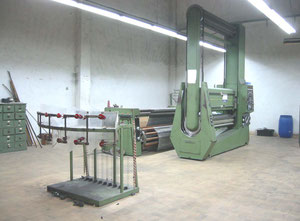 Hergeth MS 6/180 Sectional warping machine
