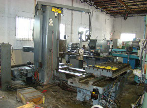 Fraser 0A-DP4-T Horizontal milling machine