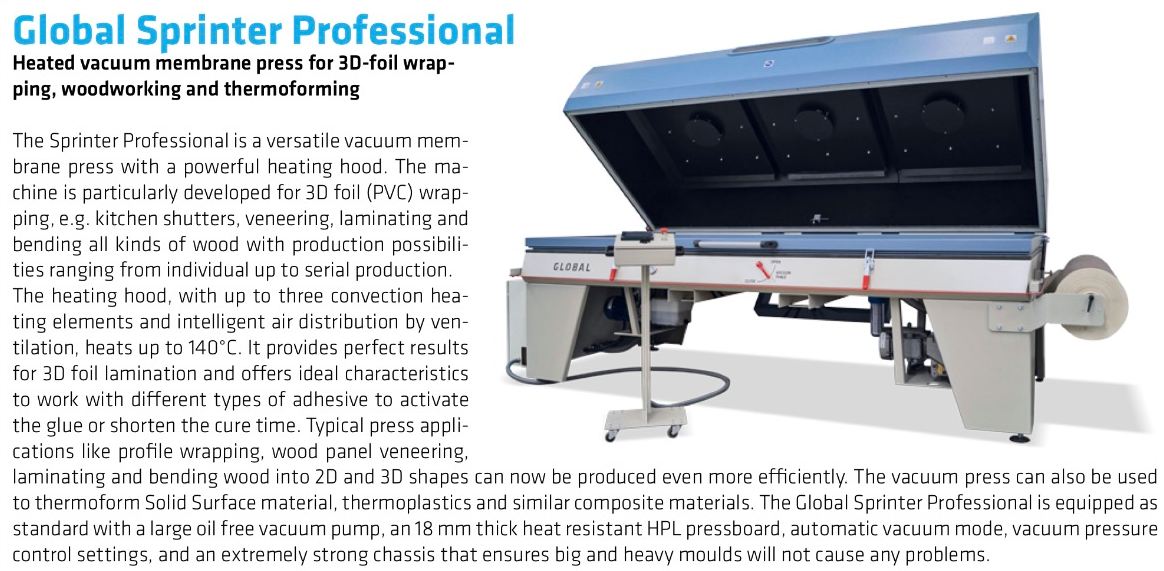 Global Gs-p-3113 Press - Exapro