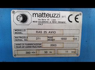 Matteuzzi RAS 25 AVIO P70830165