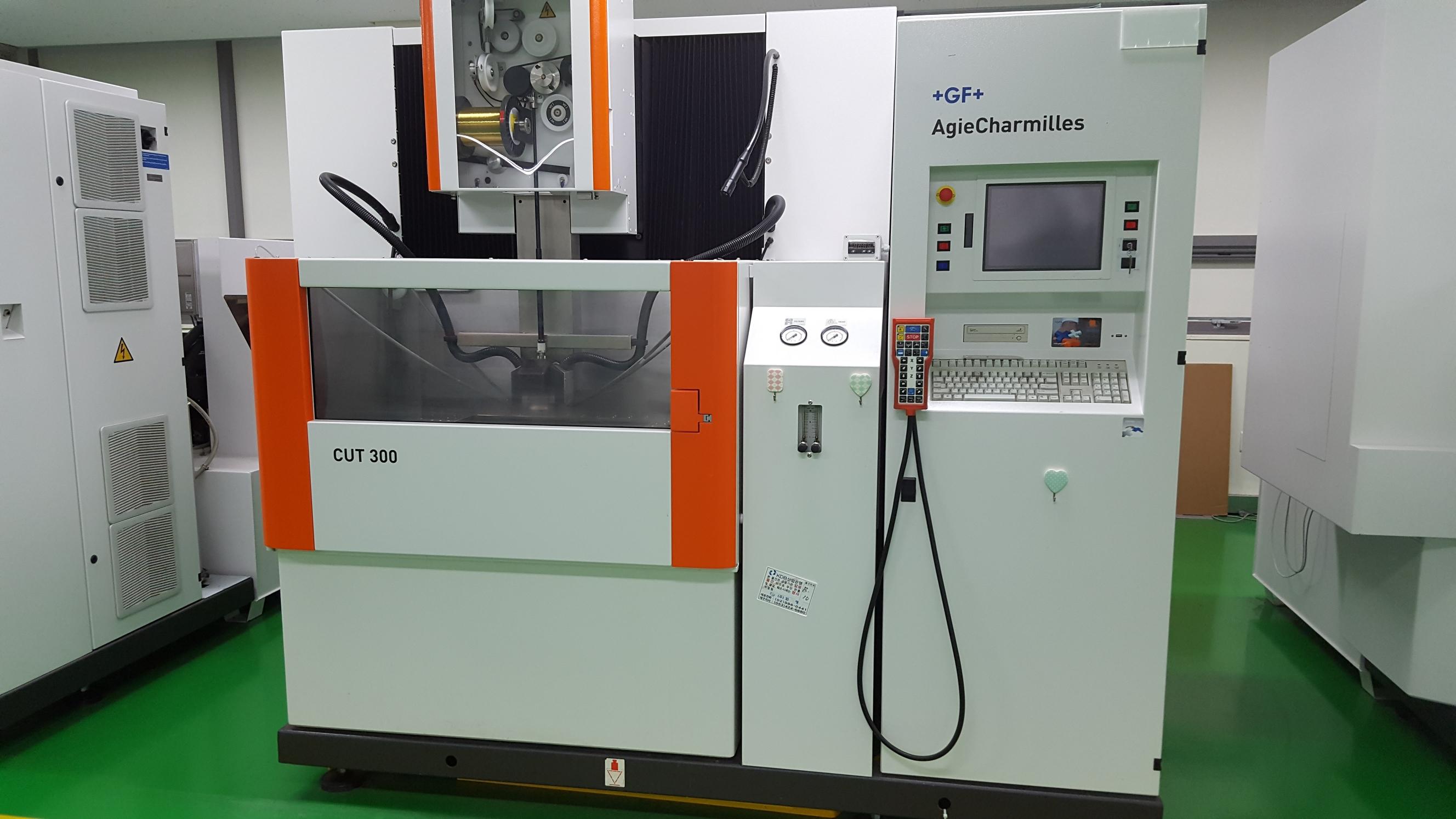 Agie Charmilles CUT 300 Wire cutting edm machine - Exapro