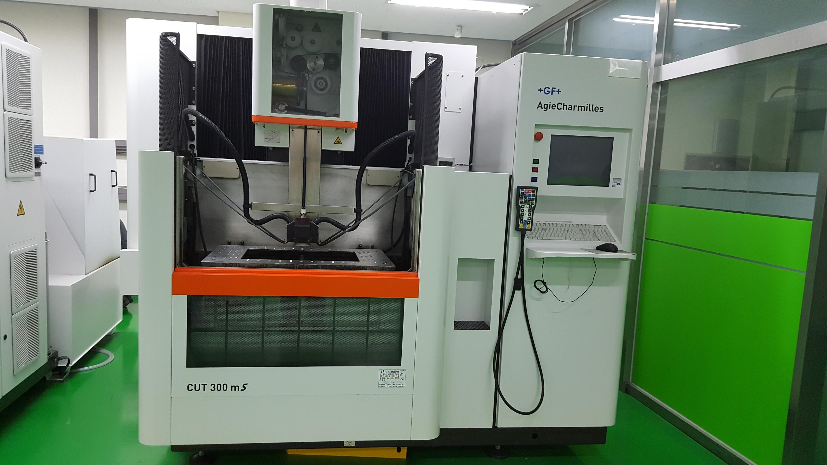 Agie Charmilles CUT 300mS Wire cutting edm machine - Exapro