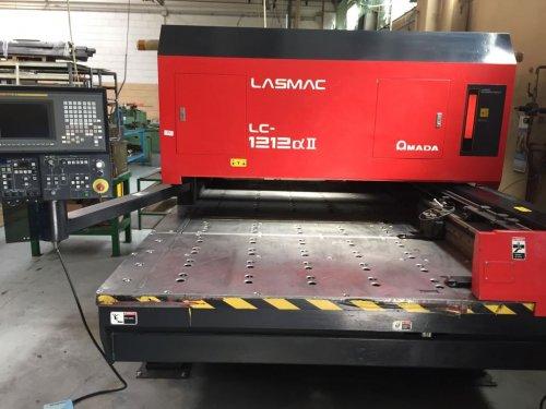Amada Lasmac Lc 1212 Ii Laser Cutting Machine Exapro
