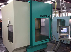 Used Deckel Maho DMU 50 V 5-Axes Simultaneous Vertical Machining Centre