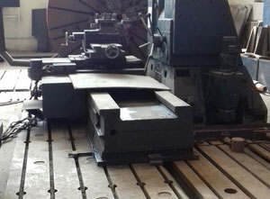 WMW Niles DP4 S2 Facing lathe