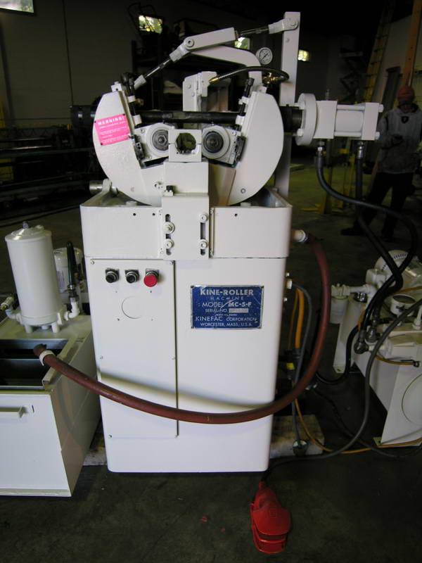 Kinefac Mc5 Thread Rolling Machine Exapro