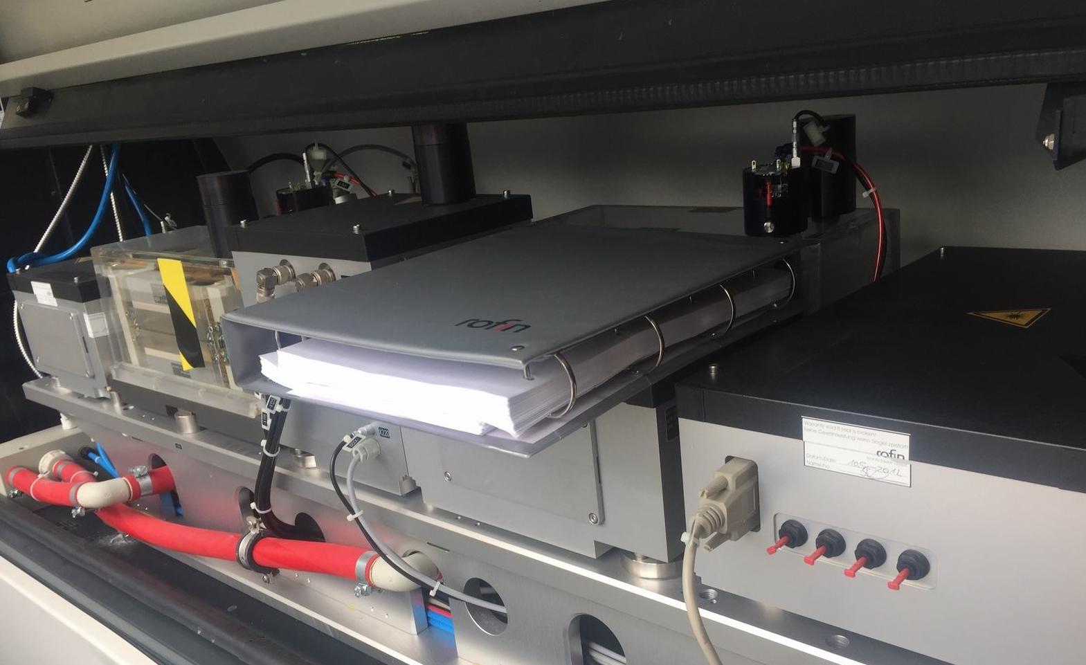 Rofin Dq X80 Laser Cutting Machine Exapro