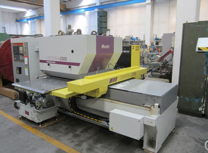 Wiedemann CENTRUM 2000 Punching machine / nibbling machine with CNC
