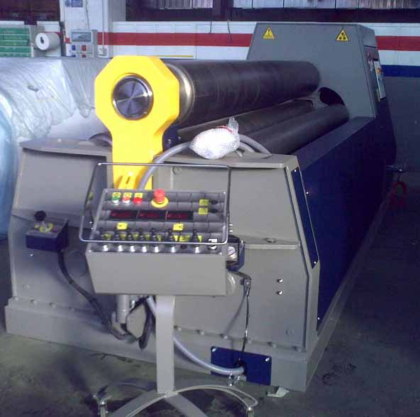 Stainless Steel Plate Rolling Machining South Africa: Mgsrl MH2518 Plate Rolling Machine