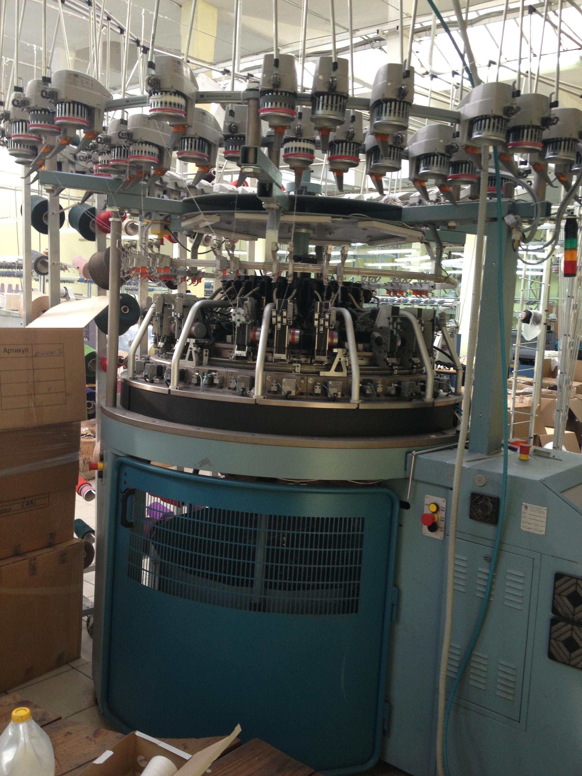 mecmor variatex 4000 tjb circular knitting machine