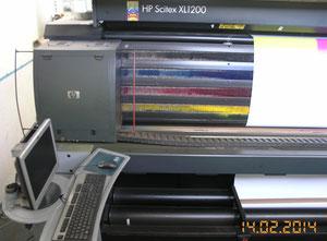 Dijital baskı presi HP Scitex XL1200 Printer