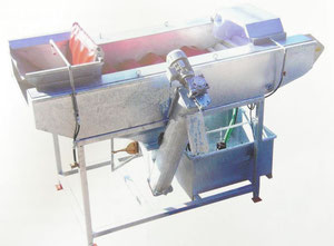 Máquina de acabado Drum washing machine Capacity approx. 8t /h