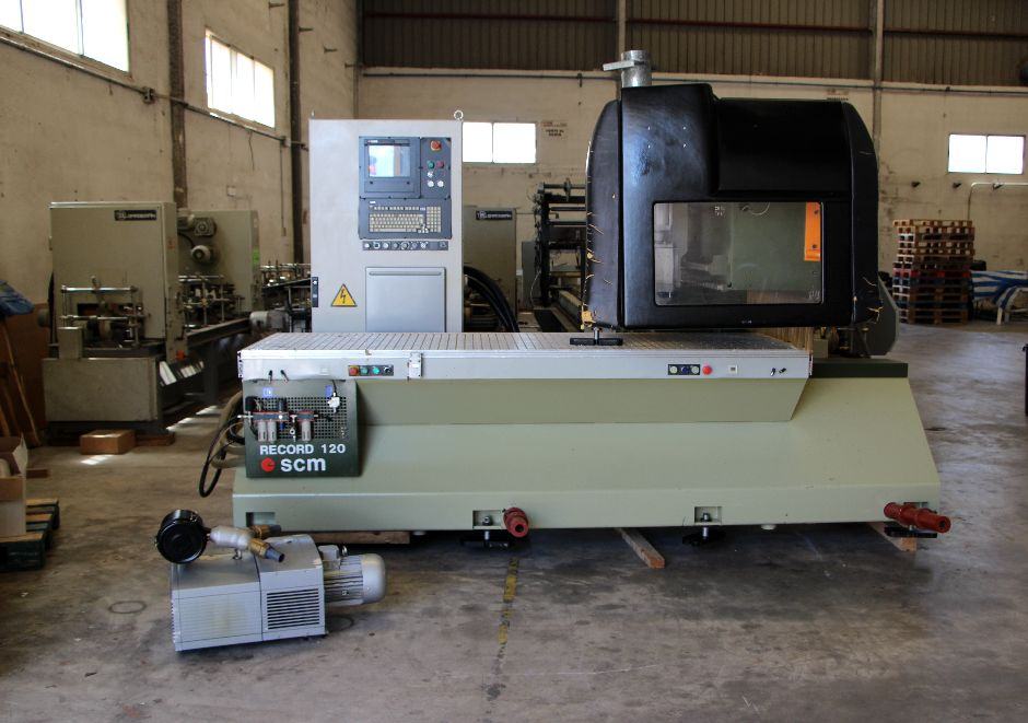 SCM RECORD 120 Wood CNC machining centre - Exapro