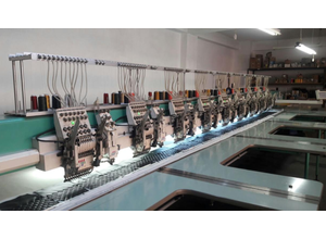 Tajima TMLH II - 1209 One head / multi-heads embroidery machine