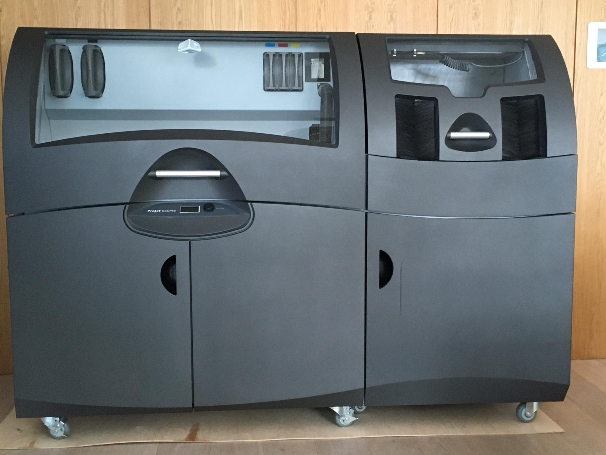 imprimante 3d 3d systems projet 660 pro 3d printer machines d 39 occasion exapro. Black Bedroom Furniture Sets. Home Design Ideas