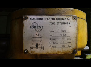 Dentatrice-stozzatrice Lorenz SNJ5 (SN5)
