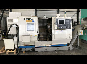 Used Okuma LU 15 M Big Bore 4-Axis CNC Lathe